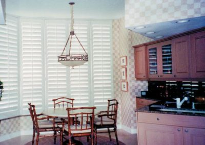 Breakfast Room – Wood Shutters