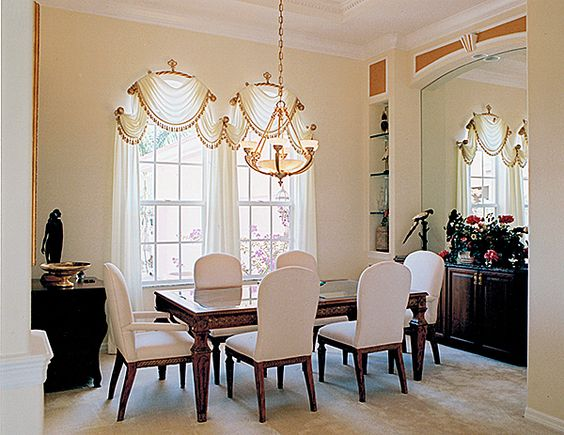 Dining Room – Specialty Shaped Windows