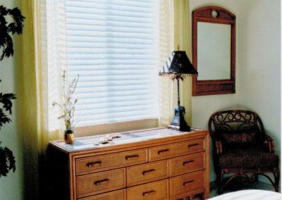 Guest Bedroom – Pelmet Valance, Side Panels and Custom Coverlet