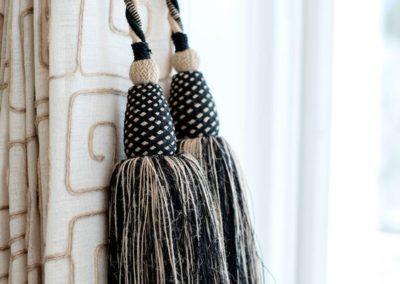 Trim/Embellishment – Raffia Tassel Tieback